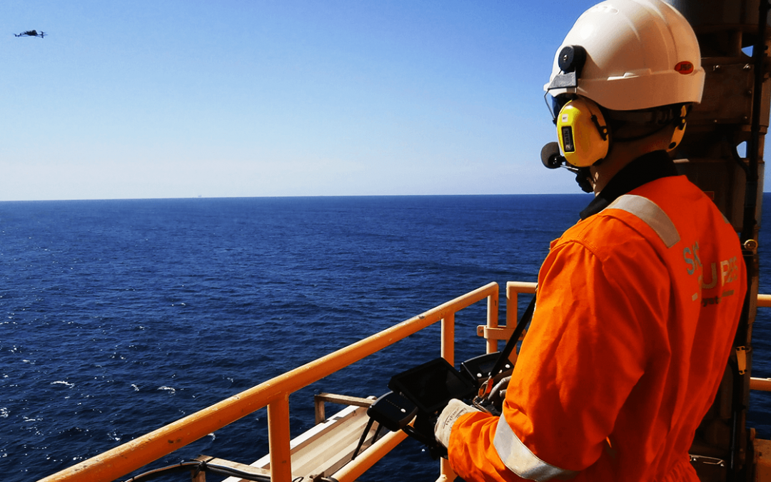 First ever drone inspection for Oil & Gas completed in the Gulf of Mexico