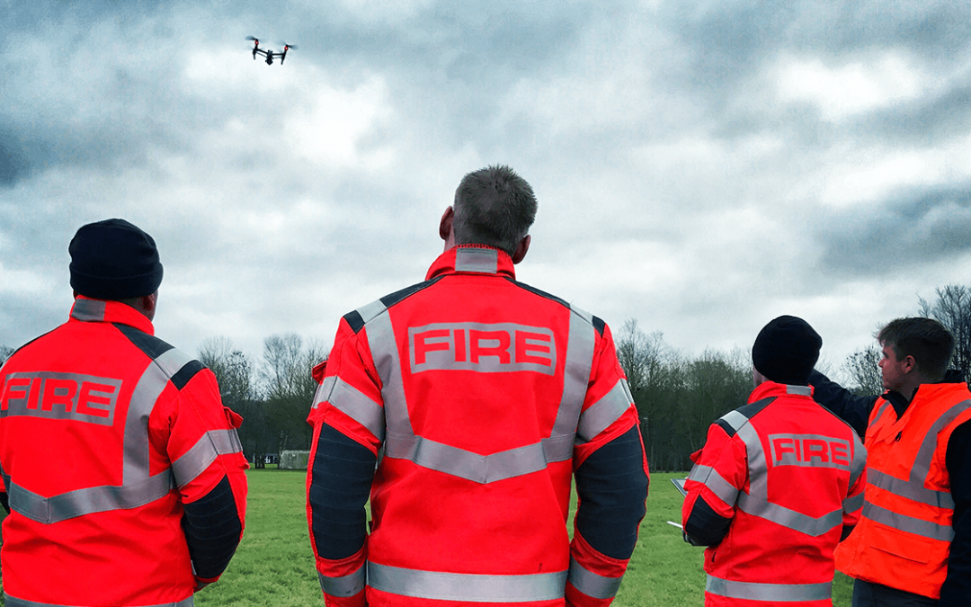 3 Emergency Services completed drone training with Sky-Futures