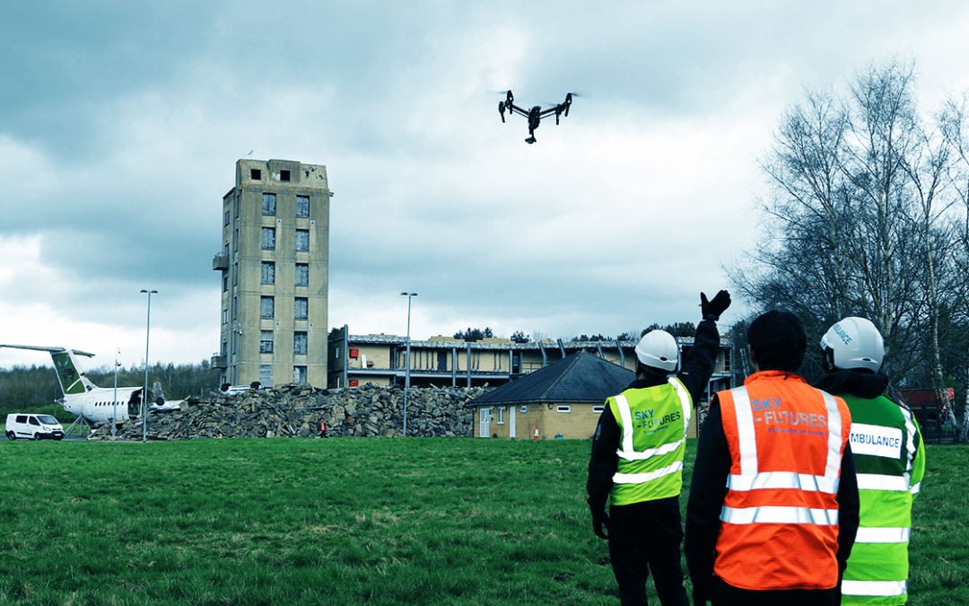 Sky-Futures awarded with highest level of SGS RPAS Safety & Compliance Verification