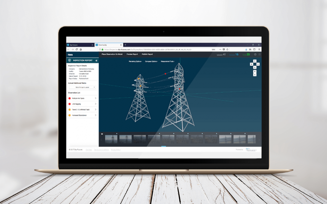 Drone industrial inspection software, Expanse is launched