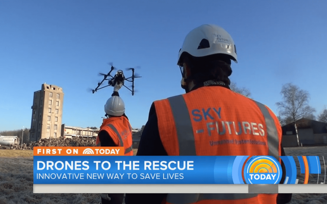Sky-Futures Drone Inspection Technology Featured on NBC Today News