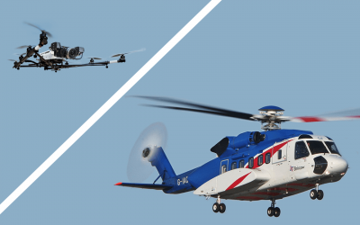 Success interoperability flight test between manned & unmanned aircraft