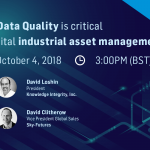 Sky-Futures Tech Insight Webinar - Why Data Quality is critical to digital industrial asset management