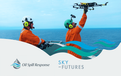 OSRL strengthens oil spill response with Sky-Futures' UAV service